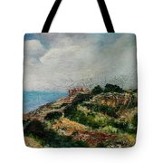 A Maltese Country Landscape Tote Bag