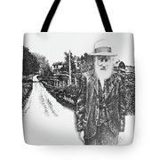A Man And His Farm Tote Bag