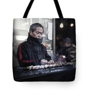 A Man And His Grill Tote Bag