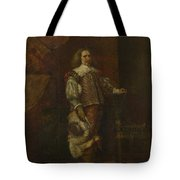 A Man In   Th Century Spanish Costume Tote Bag