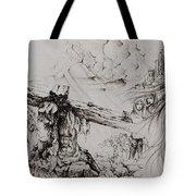 A Man Of Sorrows Tote Bag