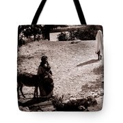 A Man With His Bride 1900s Tote Bag
