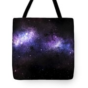 A Massive Nebula Covers A Huge Region Tote Bag by Justin Kelly