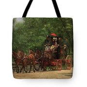 A May Morning In The Park Tote Bag