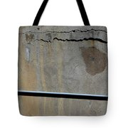 A Mean Wall Tote Bag