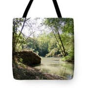 A Medina River Morning Tote Bag