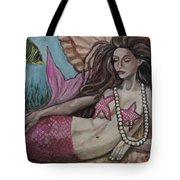 A Mermaid Named Pearl Tote Bag
