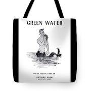 A Merman Tote Bag by ReInVintaged