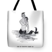 A Merman Tote Bag