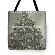 A Merry Little Christmas Quote Tote Bag