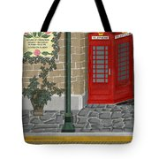 A Merry Old Corner In London Tote Bag