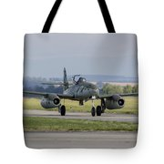 A Messerschmitt Me-262 Replica Taxiing Tote Bag