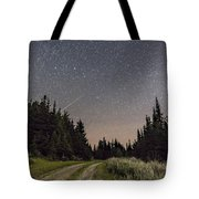 A Meteor And The Big Dipper Tote Bag