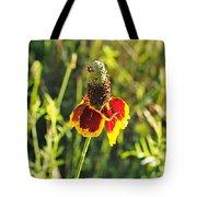 A Mexican Hat Flora Portrait Tote Bag