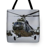 A Mil Mi-17 Helicopter Of The Czech Air Tote Bag