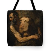 A Miser Study Tote Bag