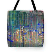 A Modern Meeting Place Tote Bag