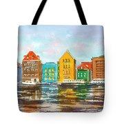 A Modern Take On Curacao Tote Bag