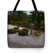 A Moment In The Garden Tote Bag