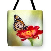 A Monarch Moment Tote Bag