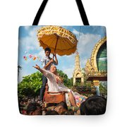 A Monk Ordination Festival Tote Bag