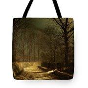 A Moonlit Lane Tote Bag