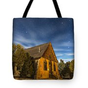 A Moonlit Nightscape Of The Historic Tote Bag