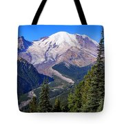 A Morning View Tote Bag