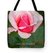 A Mother Is Like A Flower Tote Bag