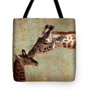 A Mother's Kiss Tote Bag