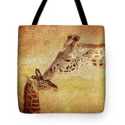 A Mother's Kiss Painted 2 Tote Bag