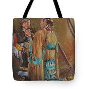 A Mother's Touch Tote Bag