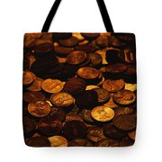 A Mound Of Pennies Tote Bag