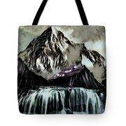 A Mountain To Think About Tote Bag