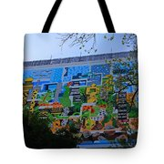 A Mural On The San Antonio Riverwalk Tote Bag