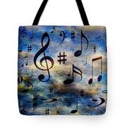 A Musical Storm 3 Tote Bag