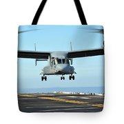 A Mv-22 Osprey Aircraft Prepares Tote Bag