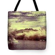 A Mystical River View Tote Bag