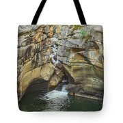 A Natatorium By The Cliff Tote Bag