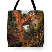 A Natural Bridge In Virginia Tote Bag