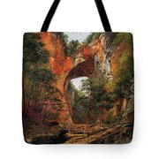 A Natural Bridge In Virginia Tote Bag