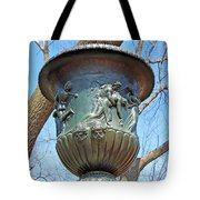 A Navy Yard Urn In Lafayette Square -- West Tote Bag