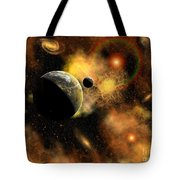 A Nebulous Star System In A Distant Tote Bag