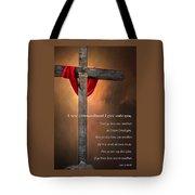 A New Commandment  Tote Bag