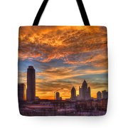 A New Day Atlantic Station Sunrise Tote Bag