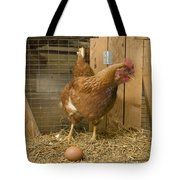 A New Hampshire Red Hen Chicken Tote Bag