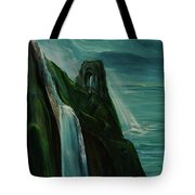 A New Light On The Norman Ruins Tote Bag