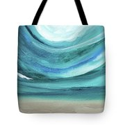 A New Start Wide- Art By Linda Woods Tote Bag