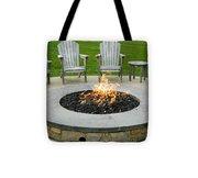 A Nice Cozy Fire Tote Bag