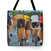 A Nice Day For  A Ride Tote Bag